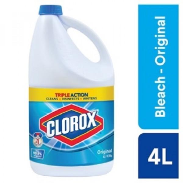 Clorox Liquid Bleach Original - 4L
