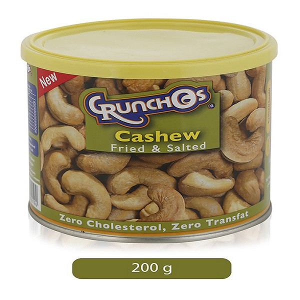 Crunchos Fried and Salted Cashew 200g