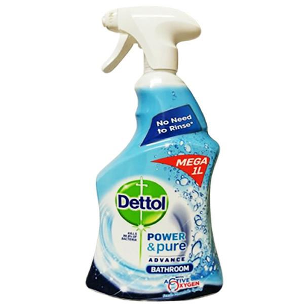 Dettol Power And Pure Bathroom Spray-1 Ltr