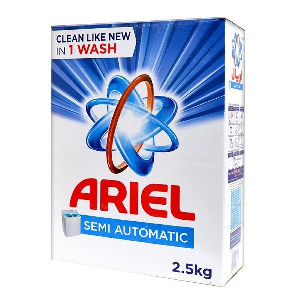 Ariel Laundry Powder Detergent (Semi Automatic) 2.5kg