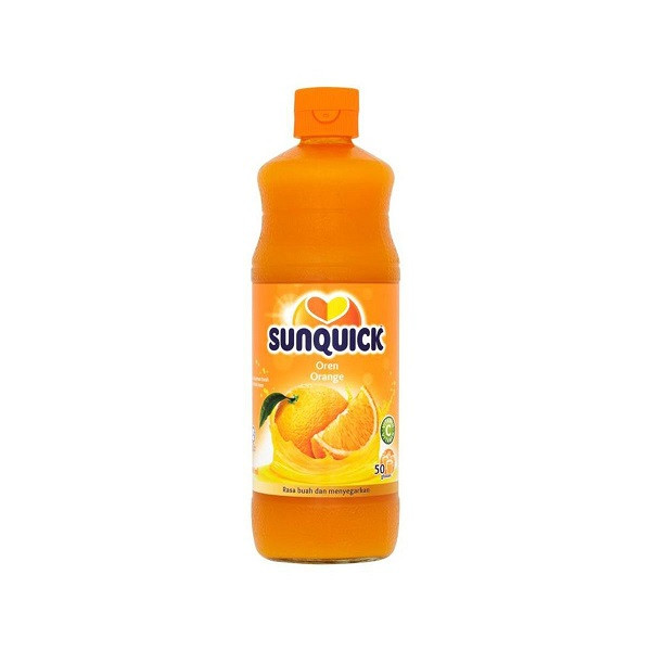 Sunquick Oren Orange Juice 840ml