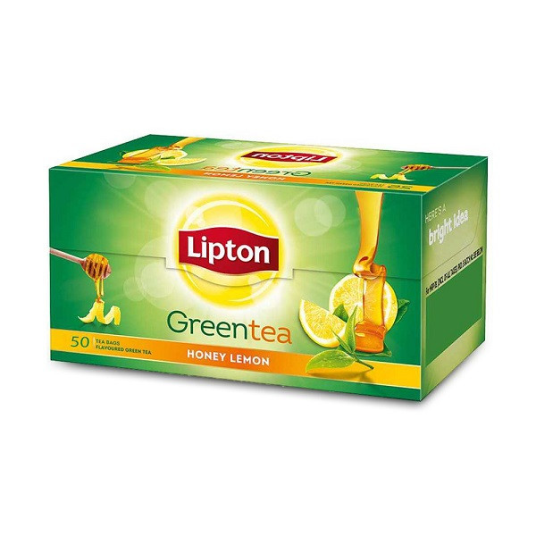 Lipton Green Tea Bag Honey and Lemon 50 bags-70grm
