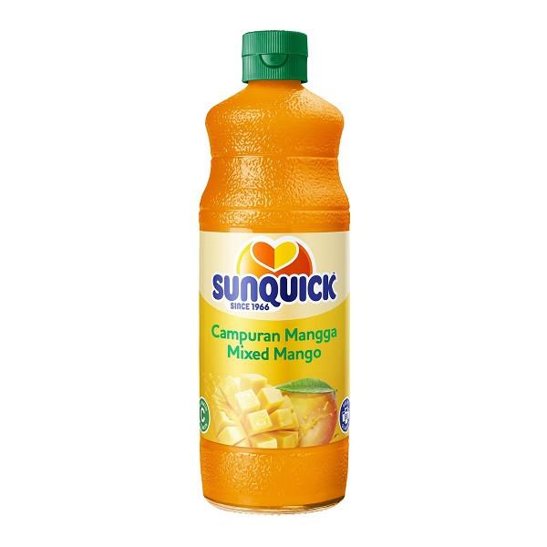 Sunquick Campuran Mangga Mixed Mango 840ml