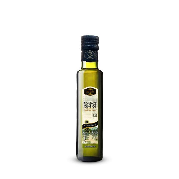Ela Vista Pomace Olive Oil: 250ML Glass Bottle