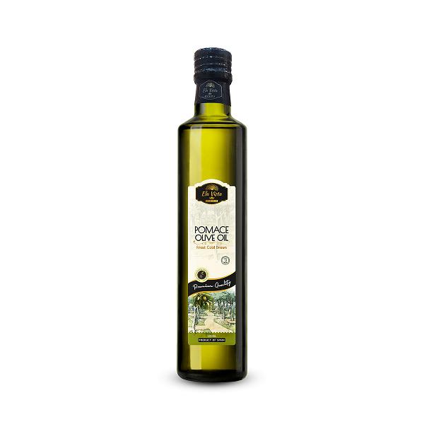 Ela Vista Pomace Olive Oil: 500ML Glass Bottle