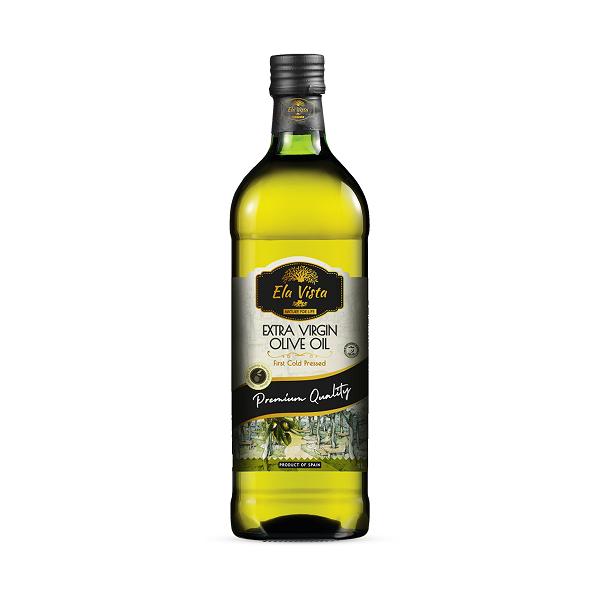 Ela Vista Extra Virgin Olive Oil: 1 Litre Glass Bottle
